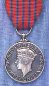 George Medal awarded to Harold James Bending 1948/ 6/22